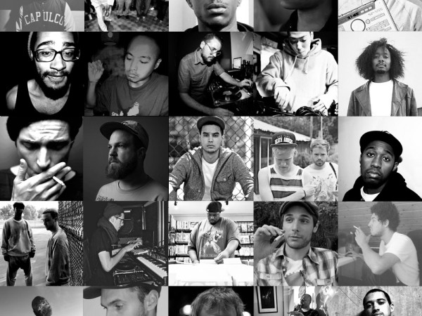 PT Artist Collage BW